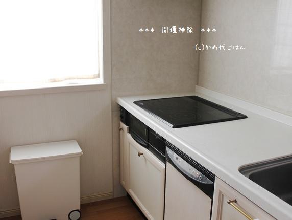 掃除キッチン