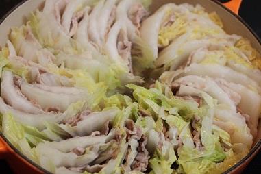 ポン酢 白菜 豚肉