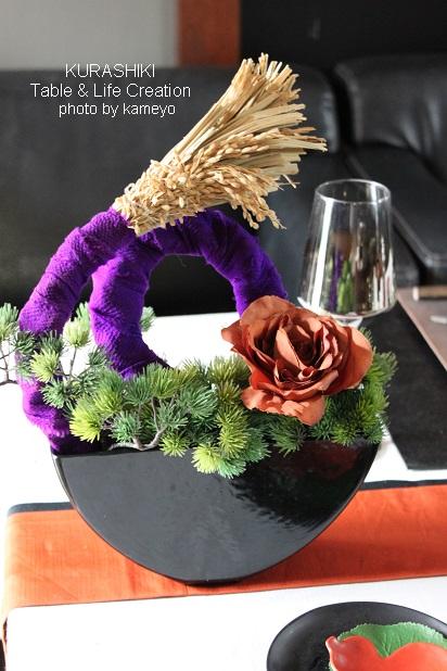 倉敷テーブル花