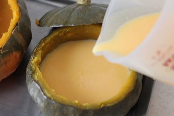 かぼちゃ汁粉レシピ5
