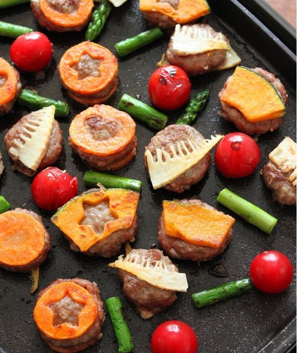 子どもの日のひき肉を使ったホットプレートレシピ