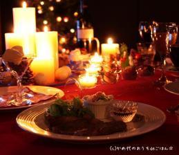 おうちで居酒屋♪ クリスマステーブル
