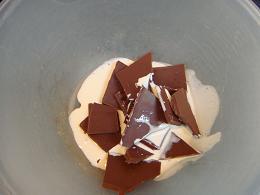 板チョコdeトリュフ