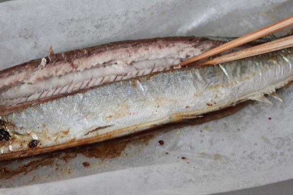 秋刀魚弁当レシピ2