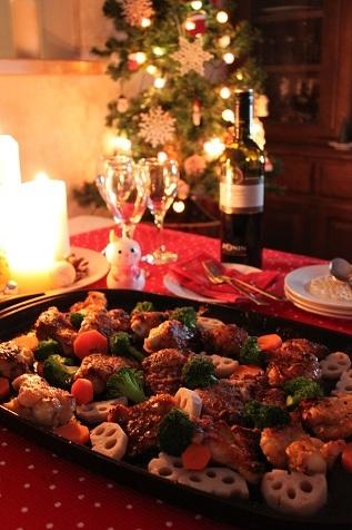 クリスマスの食卓2