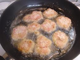 豚こまぎれ肉 de サクサクトンカツ レシピ2