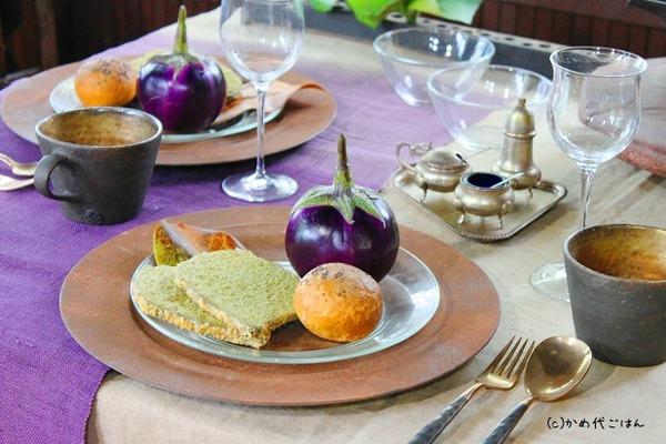 ブログ秋のテーブル 和の食卓でブラン3