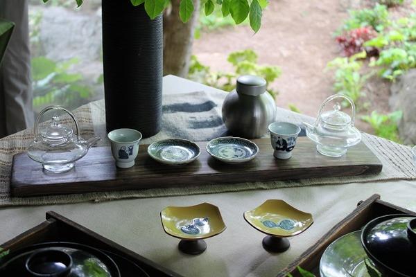 お茶テーブル