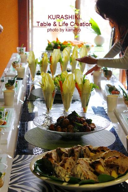 3月のパーティーテーブル