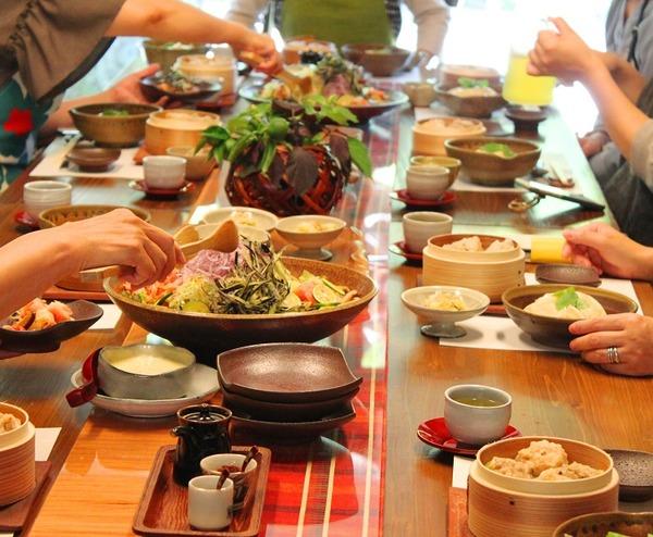 料理教室の@様子