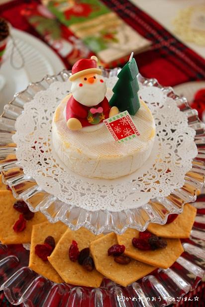 カマンベールチーズのケーキ風