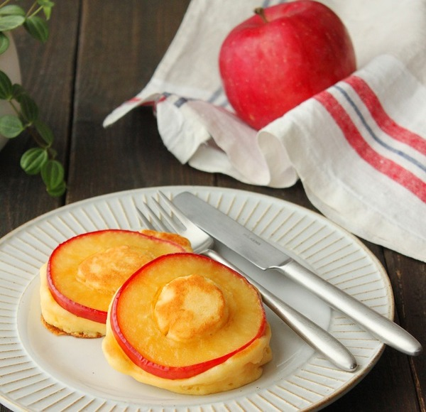 焼きりんごのパンケーキ3