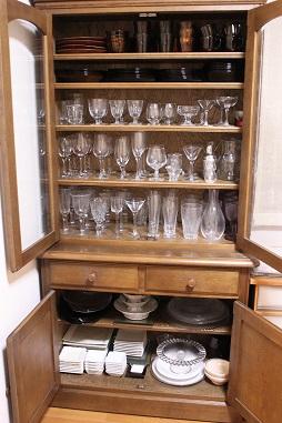 食器棚の完成