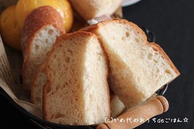 カラメル風味の食パン