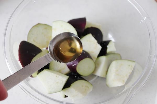 茄子の胡麻和えレシピ1