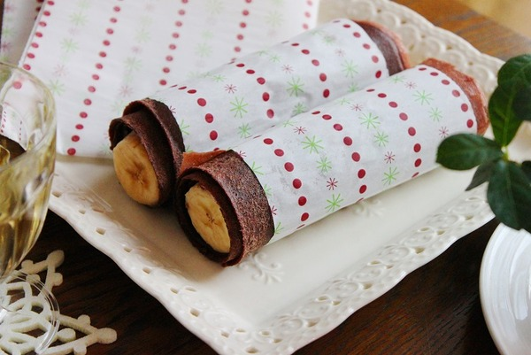 チョコバナナクレープ
