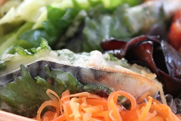 塩鯖の大葉巻