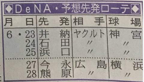 DeNA×ヤクルト3連戦  in神宮