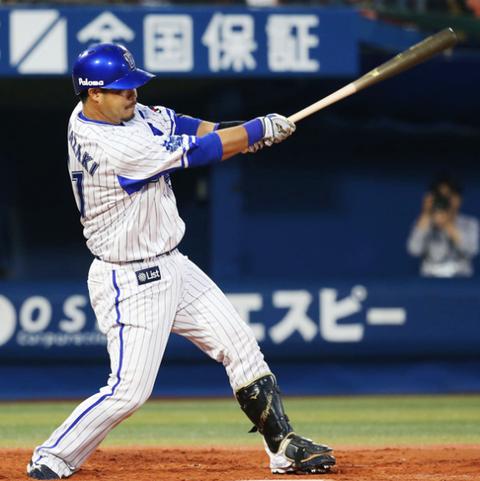 横浜DeNA宮﨑、デーゲームの朝7時前から球場入りし練習していた