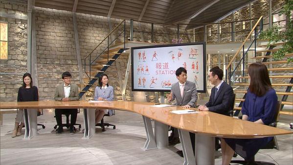 【画像】今日の小川彩佳さん 4.21