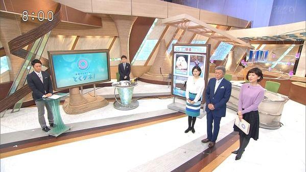 【画像】今日の梅津弥英子さんと山中章子さん 1.31