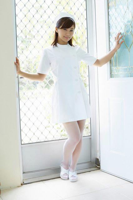 安枝瞳が看護婦だったらHな診察してほしい