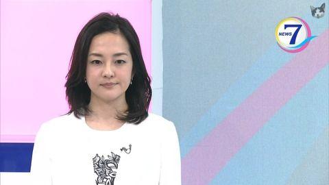 鈴木奈穂子 news7 17/04/19