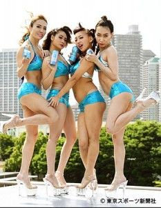 「GO GO TENGIRLS」夏のTENGA新商品をPR