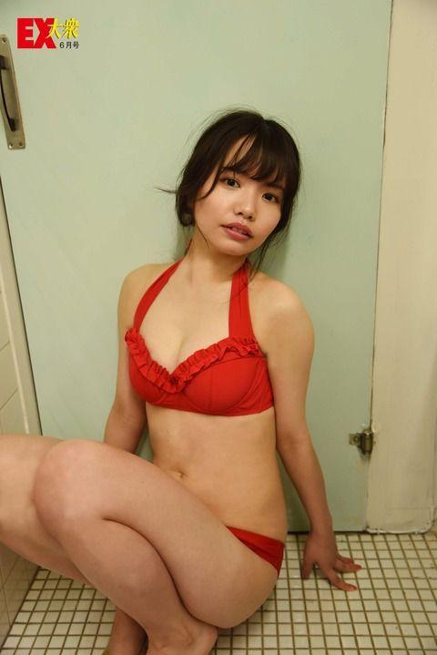 【HKT48】渕上舞ちゃんのグラビアがまるでAVだと話題に!