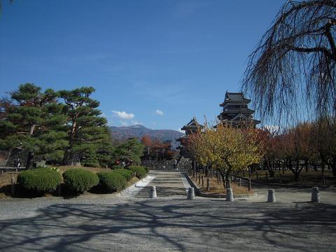 松本城 神様のカルテ