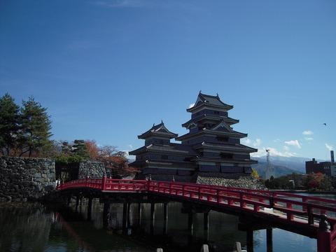 神様のカルテ 松本城