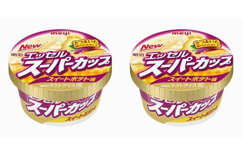 【絶対うまい】スーパーカップ「スイートポテト味」11月13日爆誕!こんなん食べるしかねぇwwwwwwww