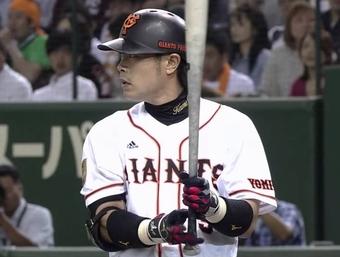 【巨人】亀井善行 打率.31578