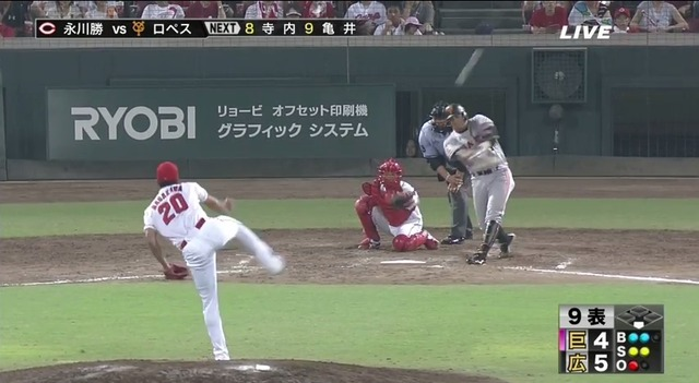 【第14号同点ソロ】巨人・ロペス「こんなに勝つチームは野球人生で初めて」