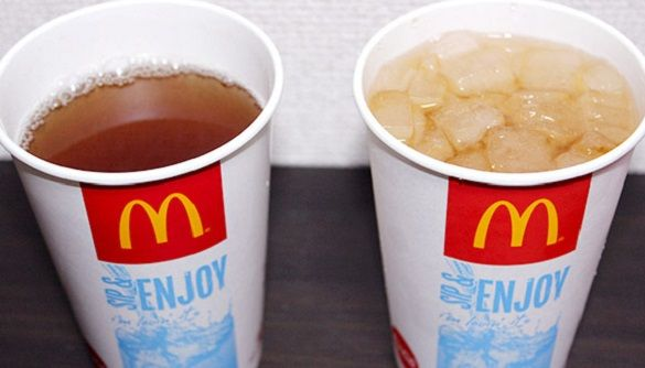 マクドナルド 氷