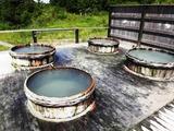 蒸けの湯 樽風呂2