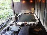 湧駒荘 浴室 別館神々の湯 男性浴室 露天風呂