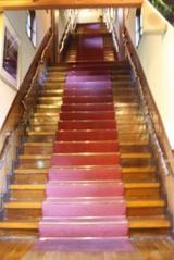 蔦温泉 別館への階段