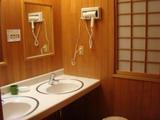 蔦温泉 女性泉響の湯洗面所