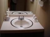 蔦温泉 西館205号室洗面所