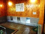 男性浴室 洗い場