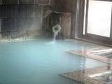 峡雲荘 浴室湯口