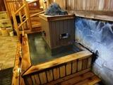 浴室棟へ 泉響の湯 掛け湯4