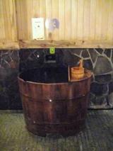 蔦温泉 男性泉響の湯 水場?