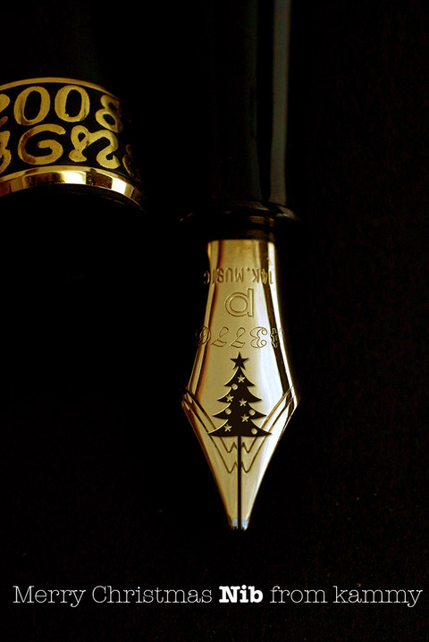 fountain pen_christmas nib_2015