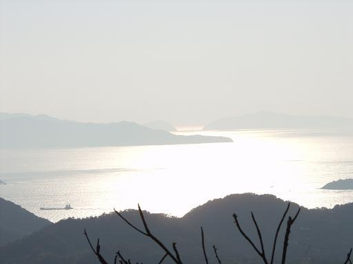 時の流れに:龍王山からの展望