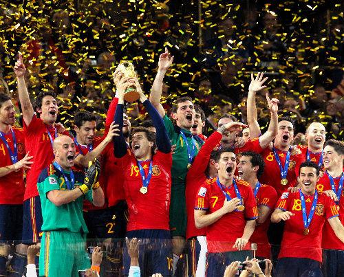今年のW杯優勝はスペインと予想