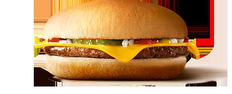 マックのチーズバーガーとかいう最強の食べ物wwwww
