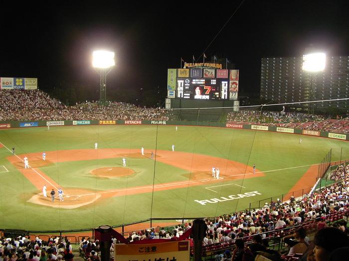 四月に仙台で野球するのって寒くないのか?