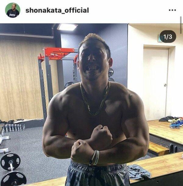 【化け物】中田翔の筋肉がヤバイ